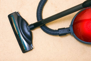 vacuum cleaner for cleaning carpets
